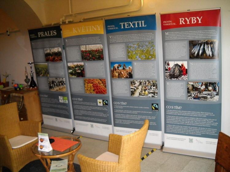 Putovní výstava - čajovna Harmonie