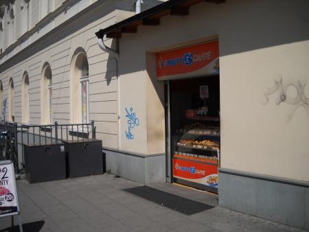 Stánek u východního nádraží